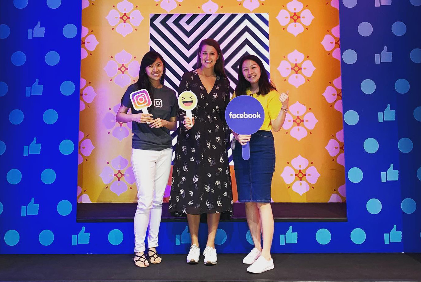 Hannah at Facebook HQ in Singapore2