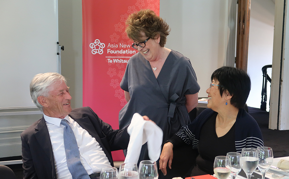 Foundation Honorary Advisers Philip Burdon, Trish Carter and Manying Ip